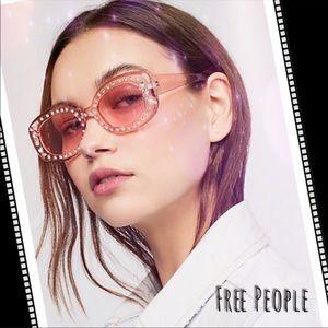 Free People   Embellished Retro NWT Sunglasses